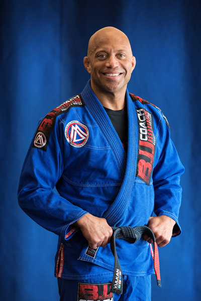 Donnell Etienne is a Brazilian Jiu-jitsu Black Belt at Corral's Martial Arts