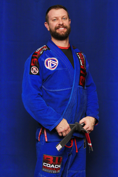 Brett Morgan is a Brazilian Jiu-jitsu Black Belt at Corral's Martial Arts