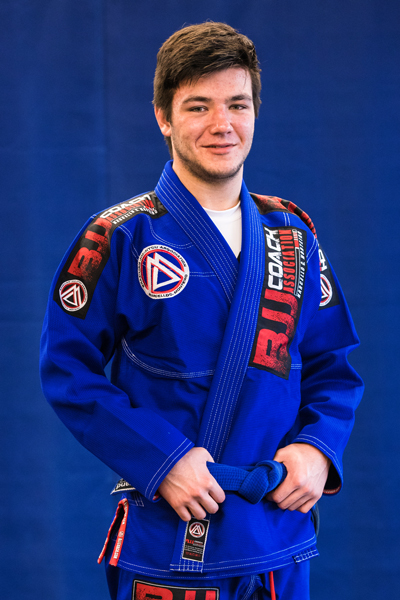 Frank Baker is a Brazilian Jiu-jitsu Blue Belt at Corral's Martial Arts