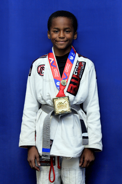 Brazilian Jiu-Jitsu IBJJF World Champion, Mason Jones