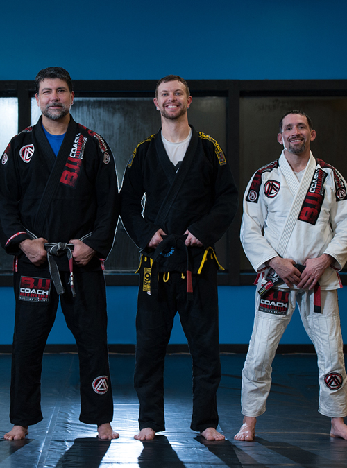 BJJ black belts at Corral's Martial Arts