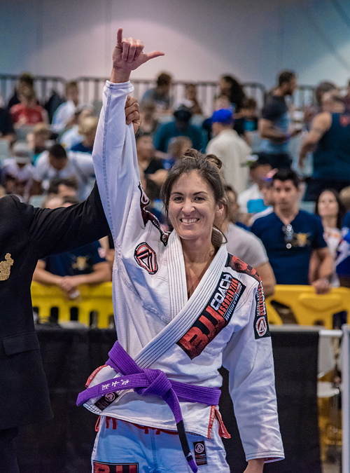 Brianne Corral wins IBJJF World Master 2019