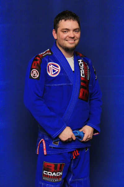 Chris Burrink is a Brazilian Jiu-jitsu Blue Belt at Corral's Martial Arts