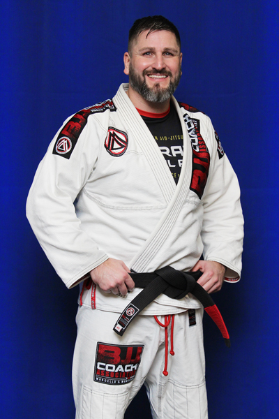 Brian Stanley is a Brazilian Jiu-jitsu Black Belt at Corral's Martial Arts